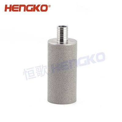 SFB02 2 microns sintered stainless steel microporous air diffusers spargers