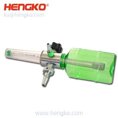HENGKO steel filter element for Pressure gauge oxygen cylinder pressure reducing Valve Flowmeter humidification bottle