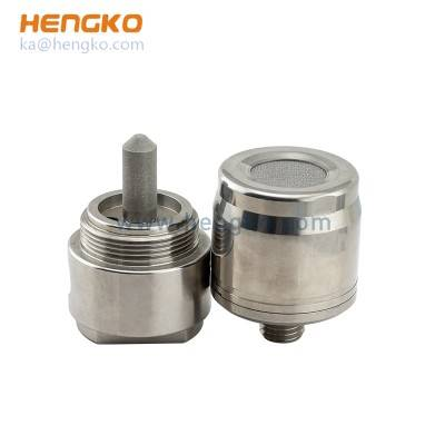 China Cheap price Sniffer Gas Detector - Sintered SS316L stainless steel flame-proof protective filter housing gas LPG CNG sensors – HENGKO