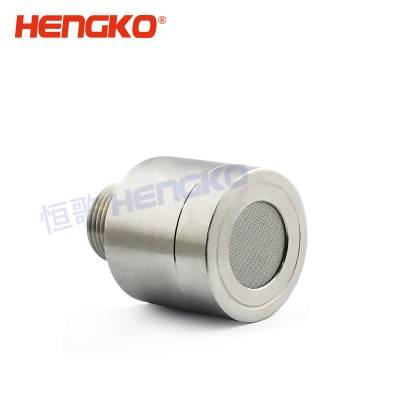 Manufacturer for Portable Methane Gas Detector - Stainless Steel gas detector probe filter housing for dangerous gas sensor component – HENGKO