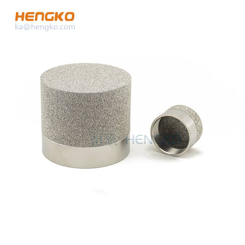 micron wêdakakêna keropos sintered metal stainless steel Filter tuwung / cartridges