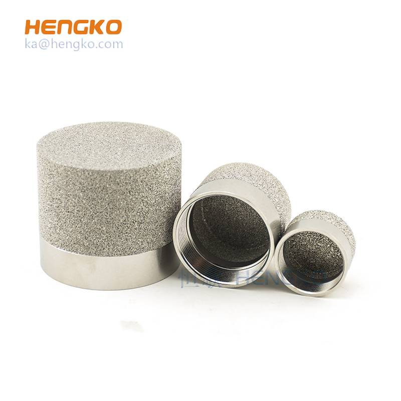 Professional China Chlorine Gas Detector - Sintered SS anti-explosion probe sensor gas detector used for protection sensing element – HENGKO
