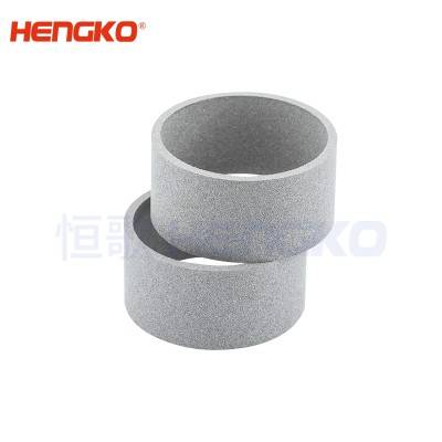 Sintered metal powder stainless steel 316L industrial dust collector air filter cartridge