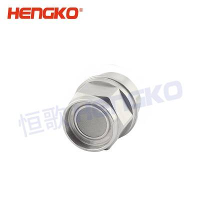 PriceList for Electrochemical Gas Detector - Fireproofing and anti-explosion sintered housing with sintered filter disc for fixed gas detector – HENGKO