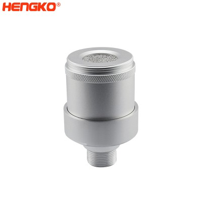 Sintered stainless steel/wire mesh explosion-proof filter housing for carbon monoxide leakage detector