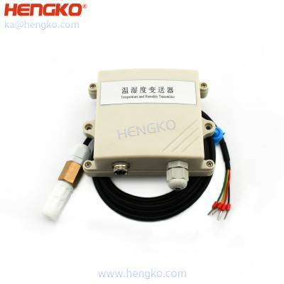 HENGKO high precision RS485 wireless temperature humidity transmitter/sensor humidity environment test for greenhouse