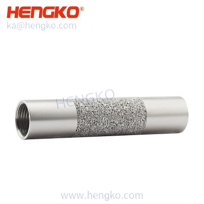 IP65 SHT10 25 30 temperature and humidity sensor transmitter detector stainless steel sensor probe porous filter housing