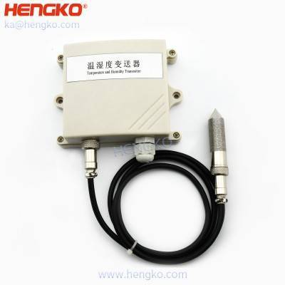 High precision industrial humidity temperature sensor and transmitters for permanent high-humidity and polluted environment, 0~100%RH