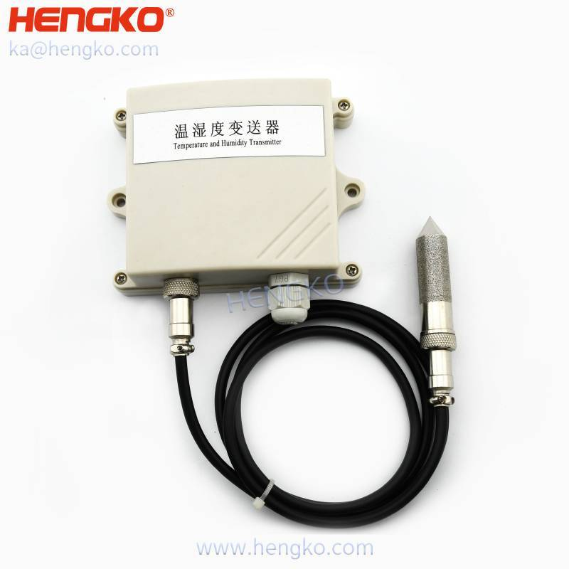 High precision industrial humidity temperature sensor and transmitters for permanent high-humidity and polluted environment, 0~100%RH Featured Image