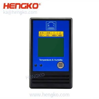 High precision RS485 digital humidity controller temperature transmitter refrigerator temperature monitoring system sensor