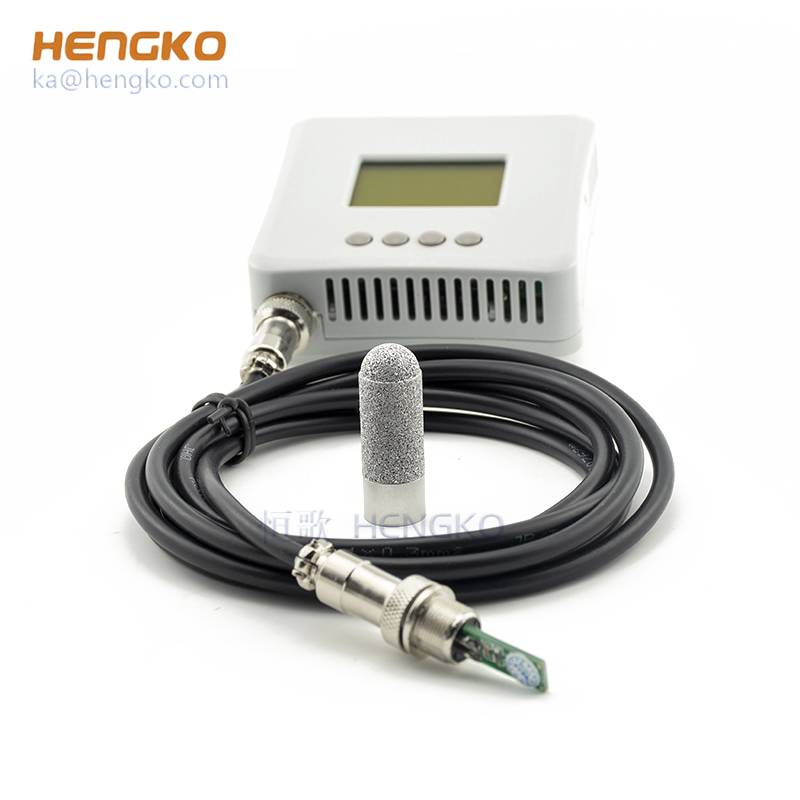 Best excellent long-term Stability industrial 4-20ma digital RS485 I2C air high dew point soil moisture SHT20 21 25 30 31 35 temperature and humidity sensor