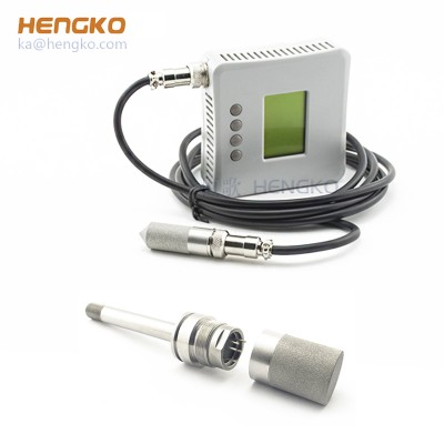 Temperature Line Sintered Stainless Steel Package Waterproof Digital Temperature/Humidity Sensor Probe Connector SHT1X