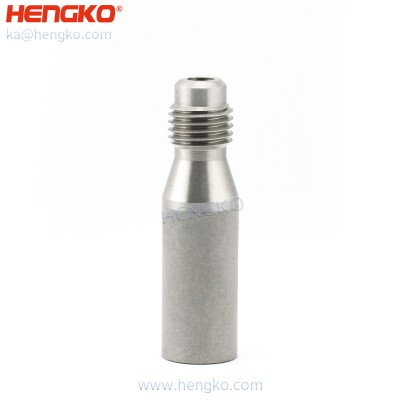 1/4″ Flare Thread Diffusion / Aeration/ Carbonating Stone 0.5/2.0 Micron Stainless Steel 316L Homebrew Kegging