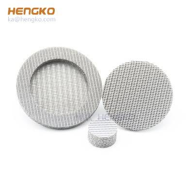 wholesale custom microns mesh powder SS 316L sintered stainless steel porous metal filter element