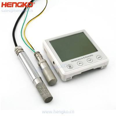 Relative temperature and humidity cleanroon and HVAC transmitter with dew point sensor analog output, 0~100)% RH