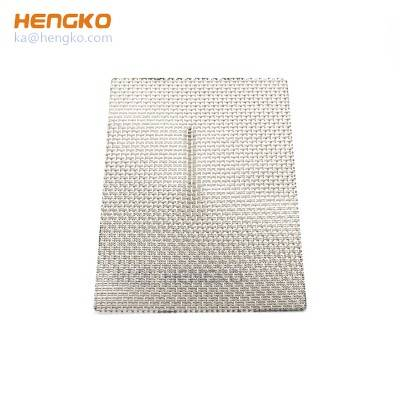 Preferential supply durable long service life sintered 5 10 40 100 micron porous 316L stainless steel filter mesh for dust filter