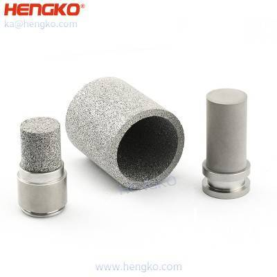 Reasonable price HENGKO 316 316L sintered stainless steel hydraulic oil filter element for medical food chemistry pharmacy