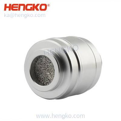 Sintered stainless steel 316L/316 stainless steel flame-proof protective filter housing gas LPG CNG sensors analyzer anti-corrosion protection shell