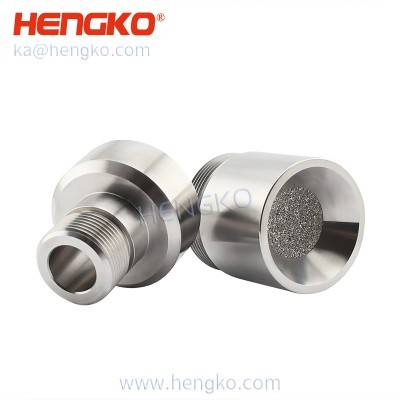 Sintered SS anti-explosion probe sensor gas detector used for protection sensing element