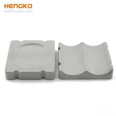 Manufacture sold and factory price various microns large size powder sintered porous SS 316l metal filter plate used for polluted water filtration