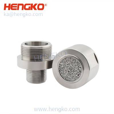 Sintered Stainless Steel 316L/316 Filter Disc Used For Gas Leakage Detectors Protection For Gas Sensor