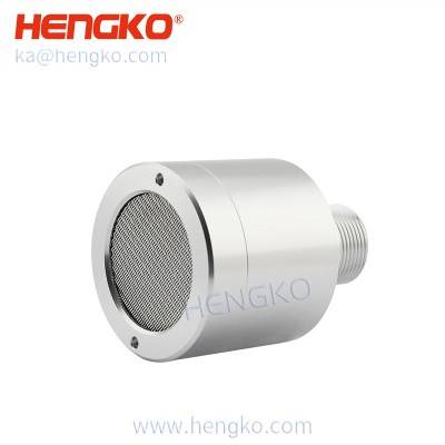 4-20mA Infrared CH4 CO2 gas sensor ( carbon dioxide sensor ) detector aluminum alloy housing (wire mesh sintered filter disc)