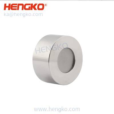 China wholesale Combustible Gas Leak Detector - porous SS explosion-proof probe housing for fixed industrial lpg gas leak detector – HENGKO