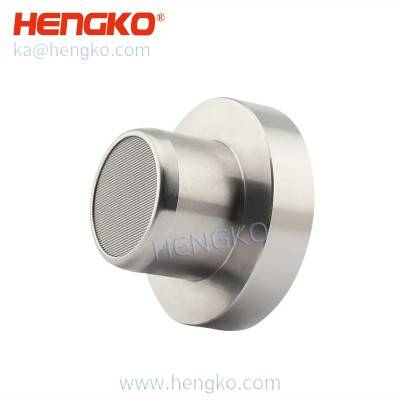 Sintered stainless steel metal catalytic bead accessories gas sensor explosion proof protective cover for hazardous noxious gas detection module