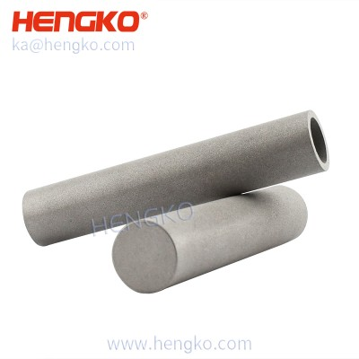 Customized sintered 1 15 40 70 120 microns stainless steel 316L powder oil filter