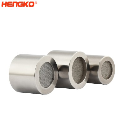 Fireproofing and anti-explosion 5 10 20 microns sintered porosity metal gas sensor explosion proof enclosure for fixed gas detector