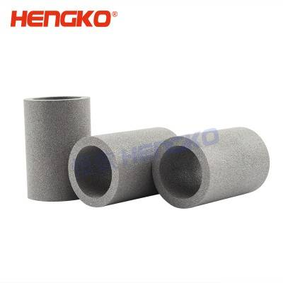 China manufacture multilayer porous sintered metal stainless steel filter tube hot sale from hengko used to pharmaceutical industry