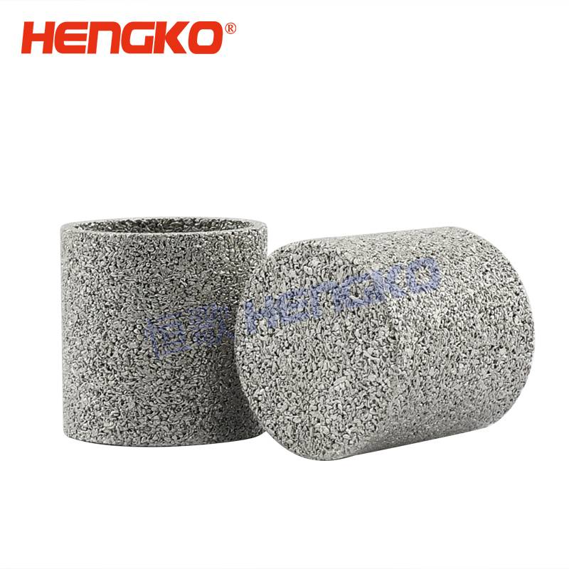 Sintered powder filter elements/sintered porous metal filter cap / cylinders Featured Image