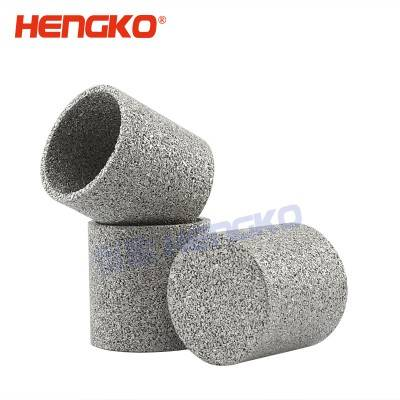 Sintered powder filter elements/sintered porous metal filter cap / cylinders