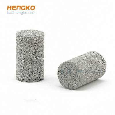 sintered metal stainless steel 316L porous air filtration foam filter candle