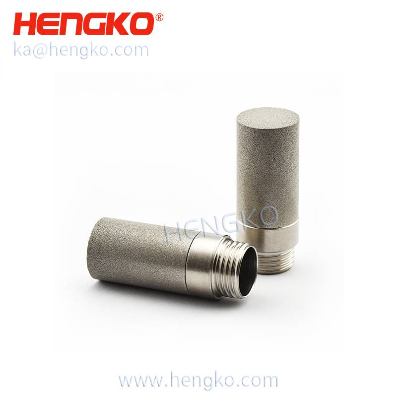 HK47G1/8U Stainless steel 316L SHT30 I2c anti-corrsion mesh-protected weather-proof temperature & humidity sensor probe shell for soil moisture sensor Featured Image