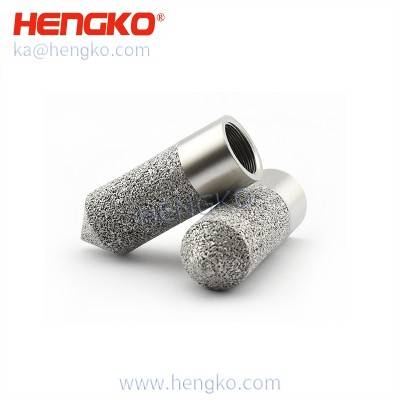 HK20G1/8U SHT-10 Good long-term stability Mesh-protected Weather-proof Soil moisture Temperature/Humidity Sensor Includes Sintered Metal Encasing
