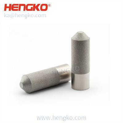 HK20MCN sintered porous stainless steel SHT-10 sensor probe housing for plant health monitor using the particle electron