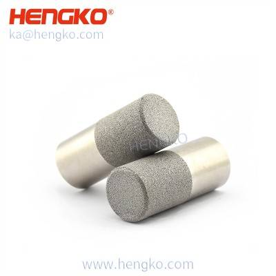 HK83MCN Porous sinter stainless steel 304 mesh filter housing for sht temperature humidity sensor