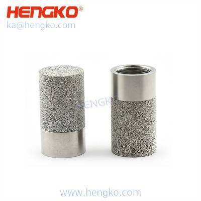 HK97MCN Waterproof Sensor Shell SHT10 SHT15 SHT20 Temperature Humidity Sensor Cover Stainless Steel Sintered Dust Jacket