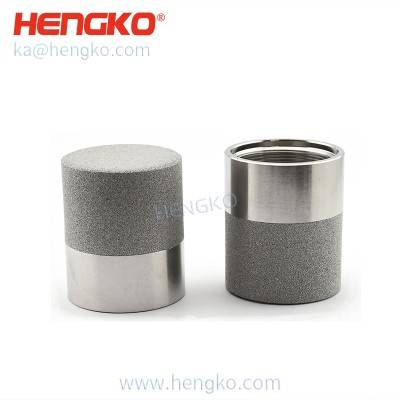 HK99MCN Sintered 316l stainless steel probe filter cover used in temperature and humidity transmitter