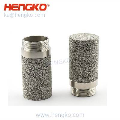 Pressure proof stainless steel probe porous housing for 4-20 ma digital display intelligent soil humidity sensor probe