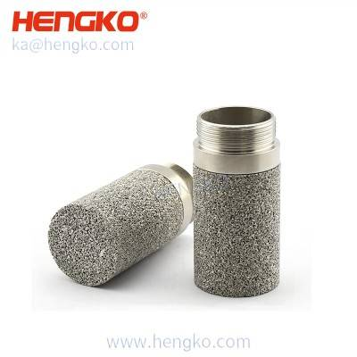 HK104MCU SHT Greenhouse Soil Humidity Sensor Module Sintered Porous Protective Housing