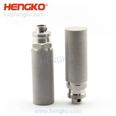 SFT02 Micron porous sintered 304 316L stainless steel flare diffusion stone for hydroponic farming