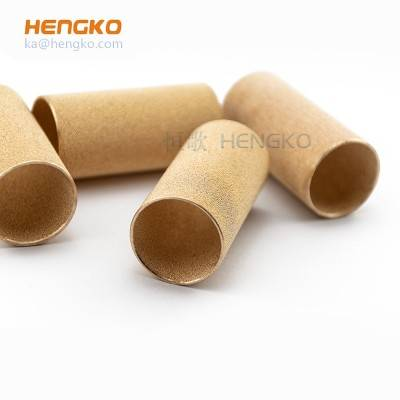 Bronze powder sintering filters tube – 3-90 micron for filtration system