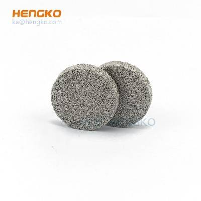 Preferential supply 0.2-120um sintered titanium porous metal backwash strainers filter disk used for food and pharmaceutical industries