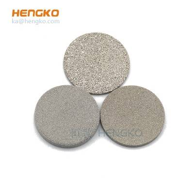 Customized 5 10 20 micron porosity sintered powder 316L stainless steel filter disc