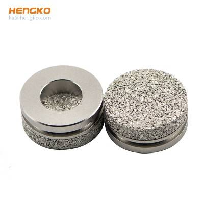 2 10 20 micron stainless steel 304/316L bronze sintered porous metal filters disc for industry filtration system