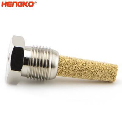 HENGKO Sintered Porous Metal Pneumatic components/ muffler return valve oil filter that reduce the noise of air solenoid valves