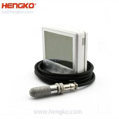 Wireless digital display SHT series accurate waterproof soil moisture humidity, soil temperature sensor for flower nursery