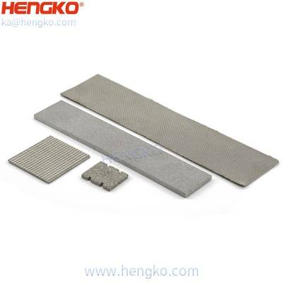 HENGKO sintered stainless steel 316 porous metal gas diffusion layers filter sheet for hydrogen generation and storage, Common Widths – Less than 5.9""